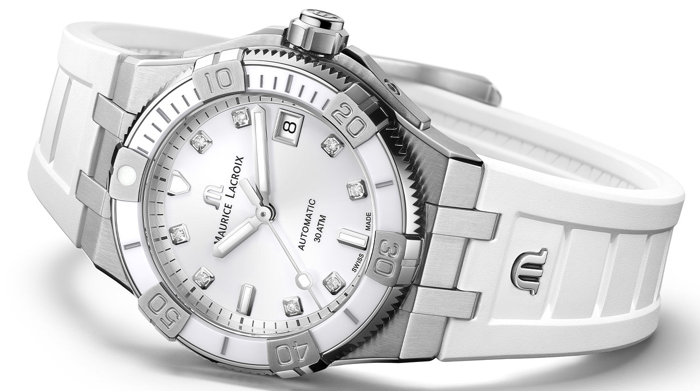 Maurice Lacroix - Aikon Venturer 38mm - The White Amazon