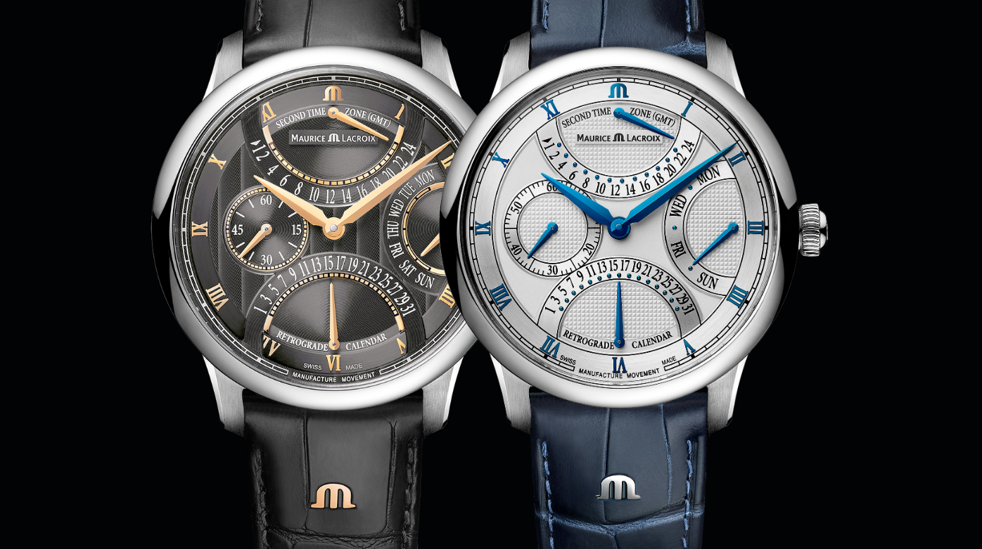 Maurice Lacroix - The Triple Retrograde Masterpiece Collection