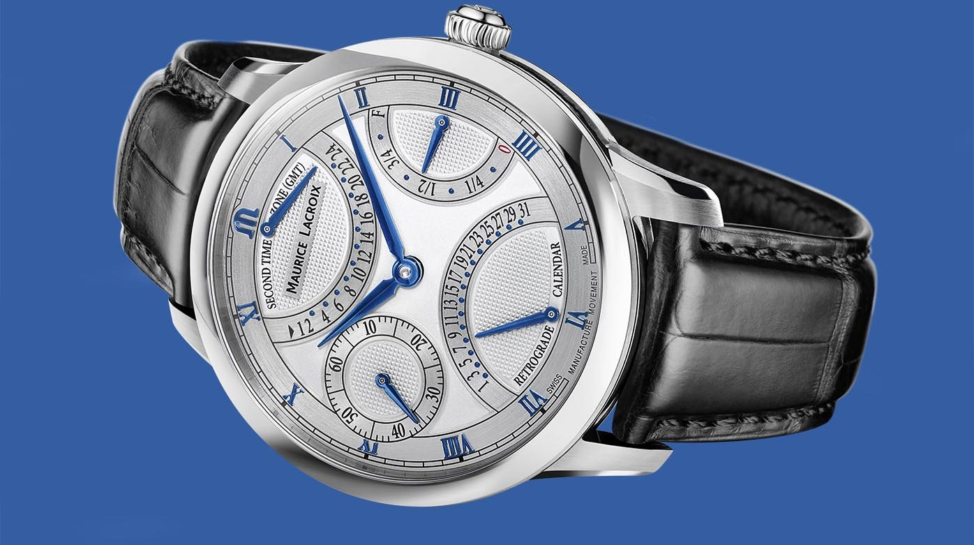 Maurice Lacroix - Masterpiece Double Retrograde