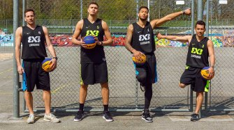 Team Lausanne 3X3, new friend of the brand