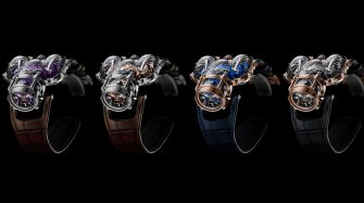 "Horological Machine N°9 ""Sapphire Vision"" Trends and style"