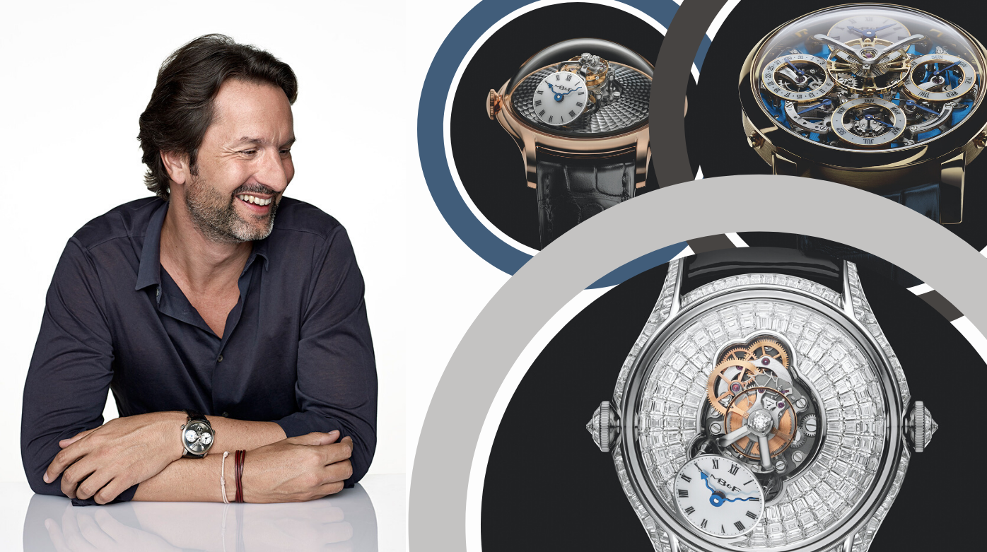 MB&F - Ten Minutes With Maximilian Büsser: Discover the man behind MB&F