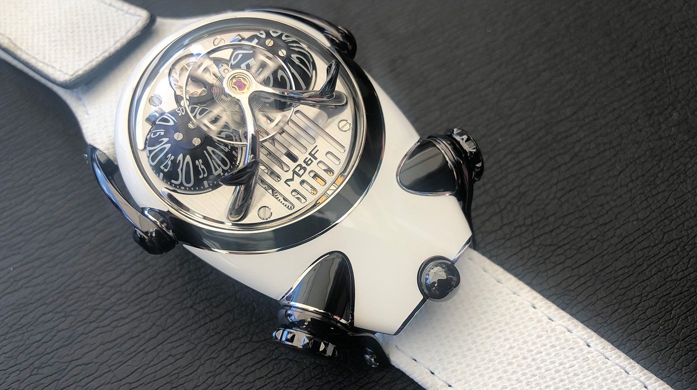 MB&F - The Bulldog Transforms into a Panda for Only Watch 2021