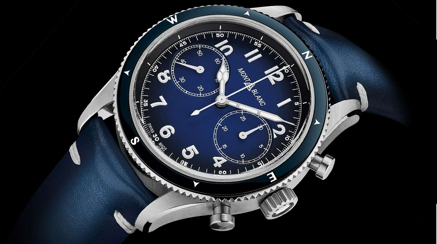 Montblanc - Montblanc 1858 Automatic Chronograph