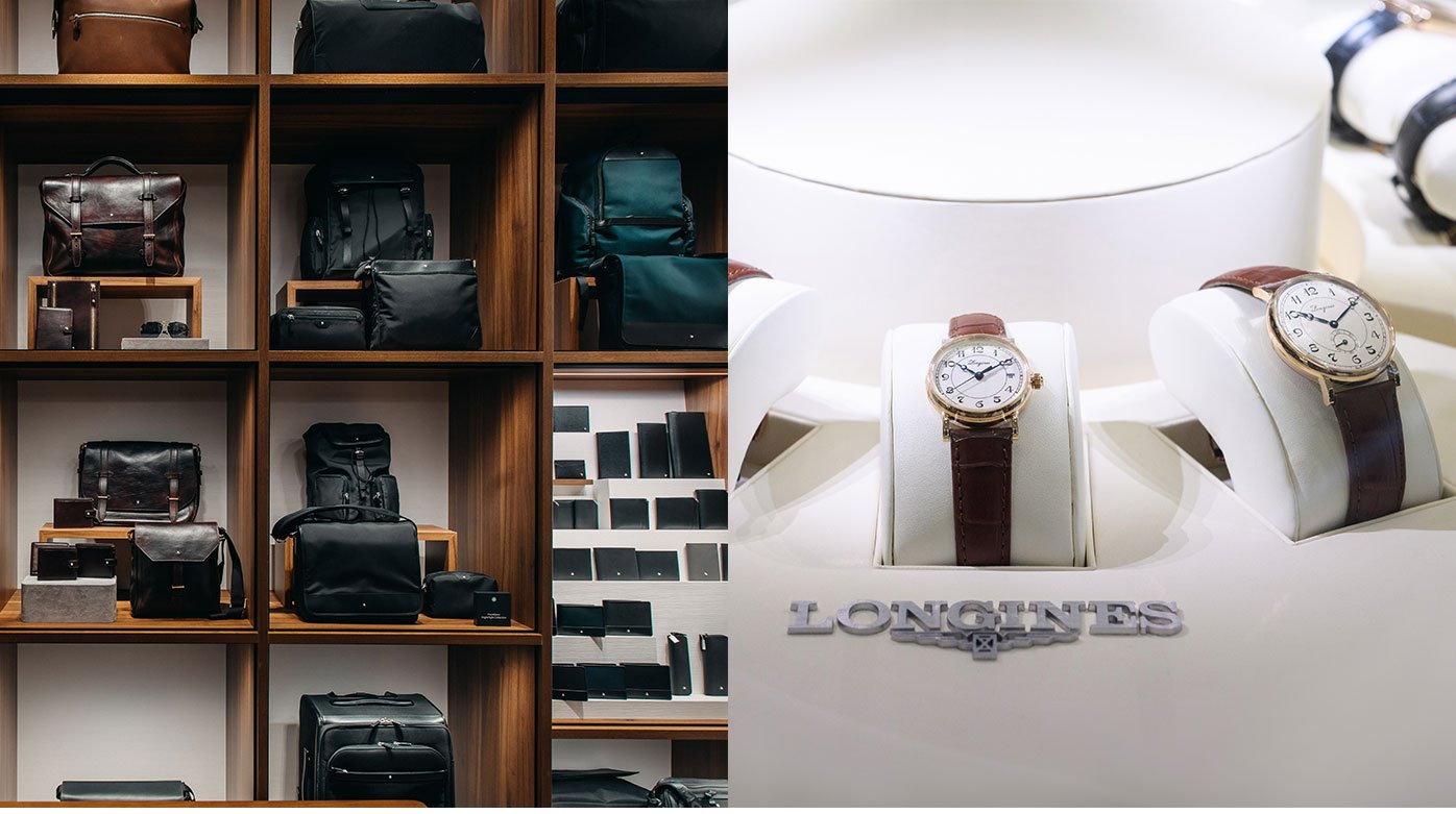 Longines / Montblanc - The Singapore Connection