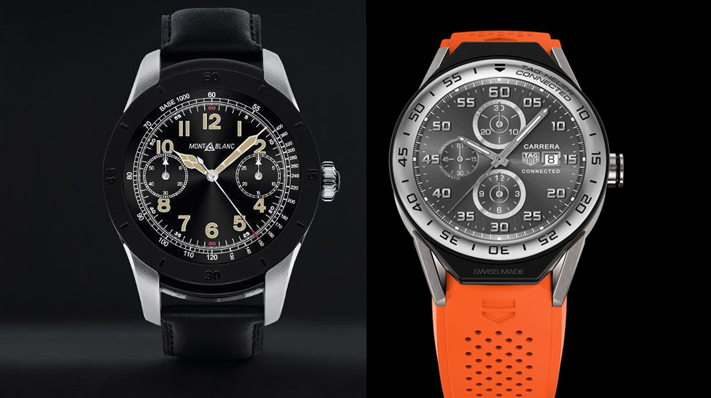 Montres connectées  - Montblanc Summit / TAG Heuer Connected Modular 45