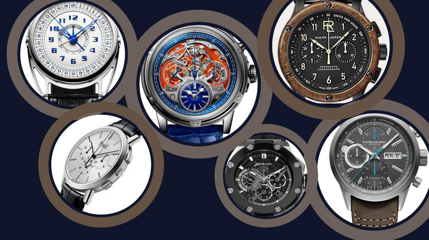Chronographes - Chronographs with added extra