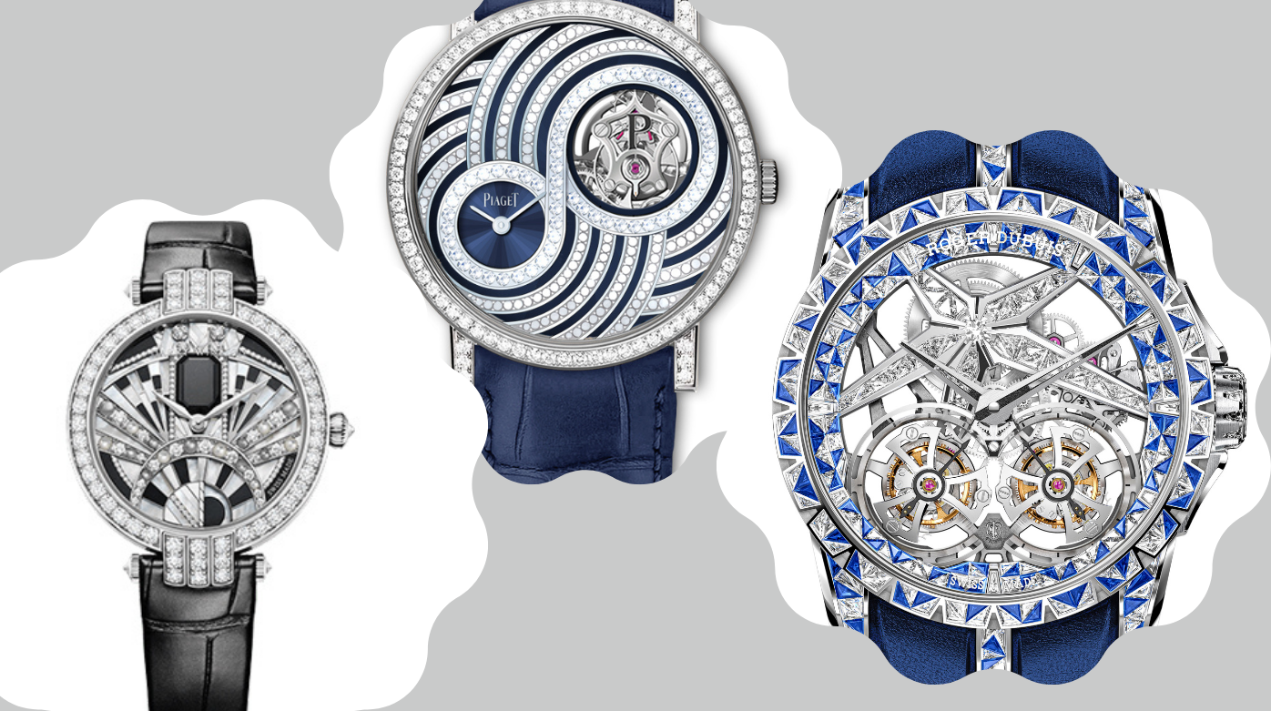 High-jewelry watches - Three Thrilling High-Jeweled Watches From 2020