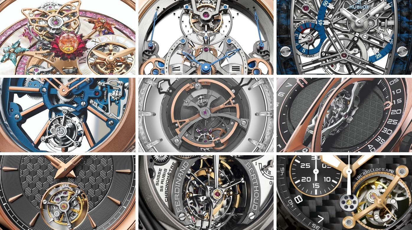 Baselworld 2019 - A tour of the tourbillons