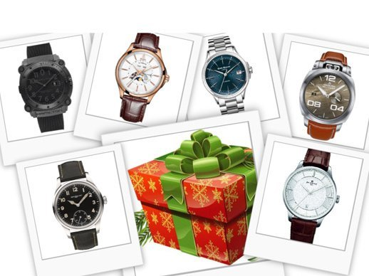 Christmas gifts - Six Swiss Made watches under 3,000 Swiss francs