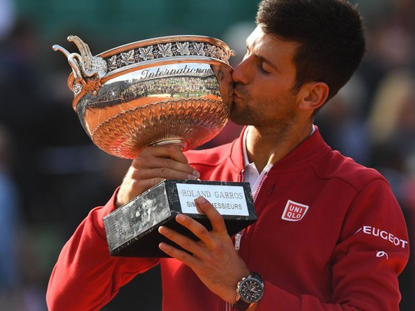 Seiko - Djokovic claims first French Open title
