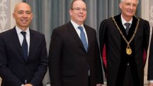 H.S.H. Prince Albert II of Monaco and Luc Pettavino honoured by the University of Bern