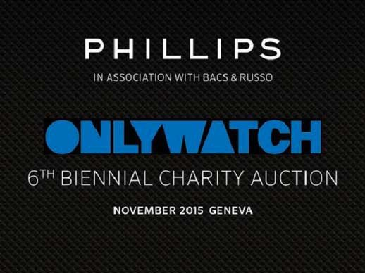 Only Watch 2015 - From Monaco to Geneva