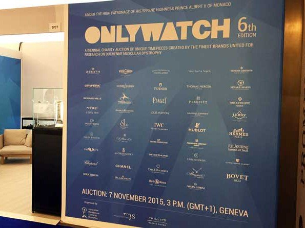 Only Watch 2015 - Only Watch au cœur du Monaco Yacht Show