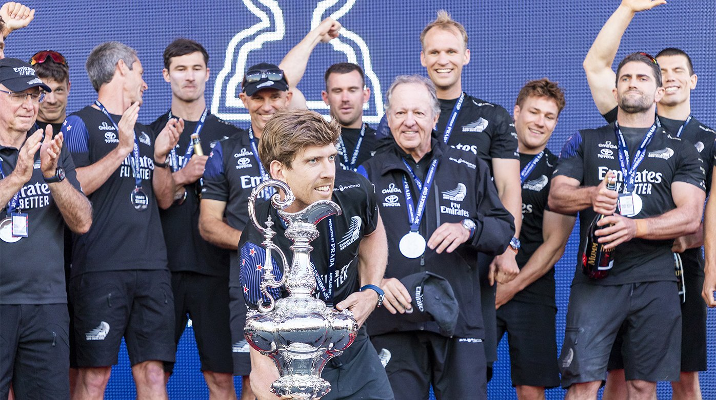 Omega - Emirates Team New Zealand - Winner of the 36th America's Cup