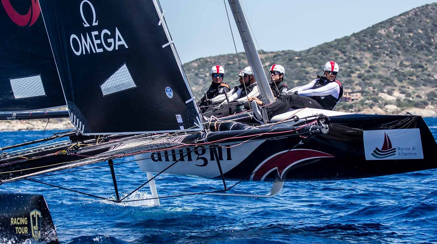 Omega - Partnership with Alinghi