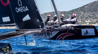 Partnership with Alinghi Sport