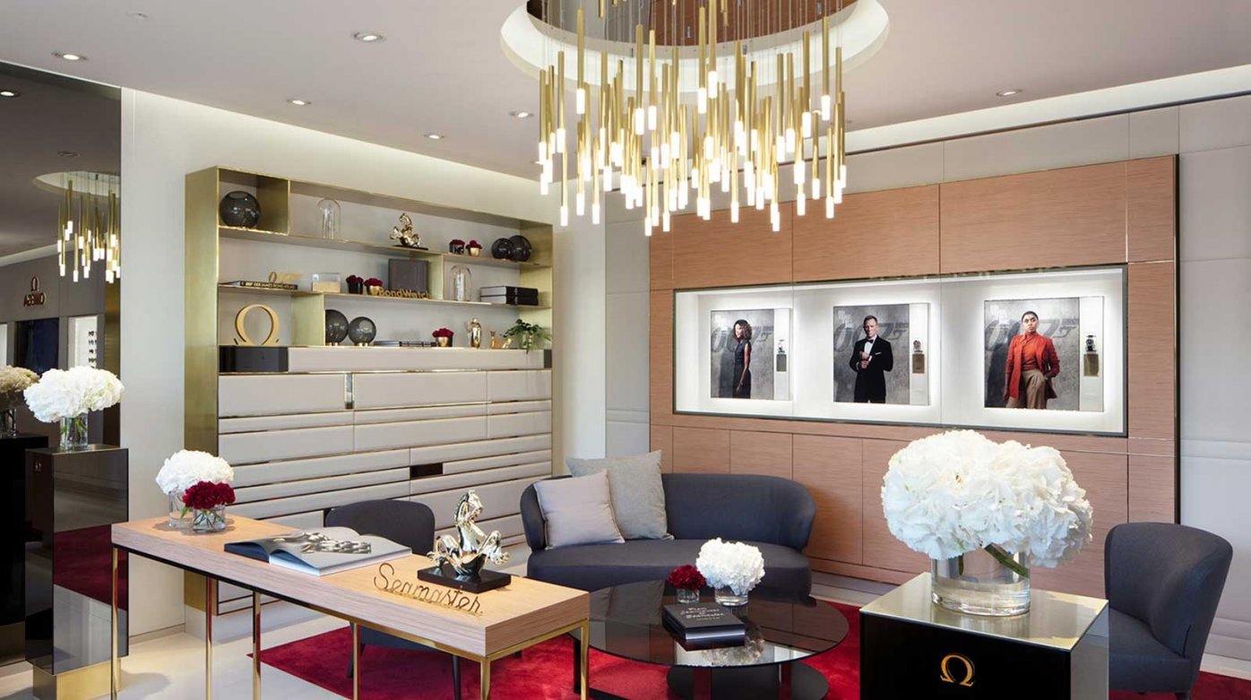Omega - New boutique in Bienne