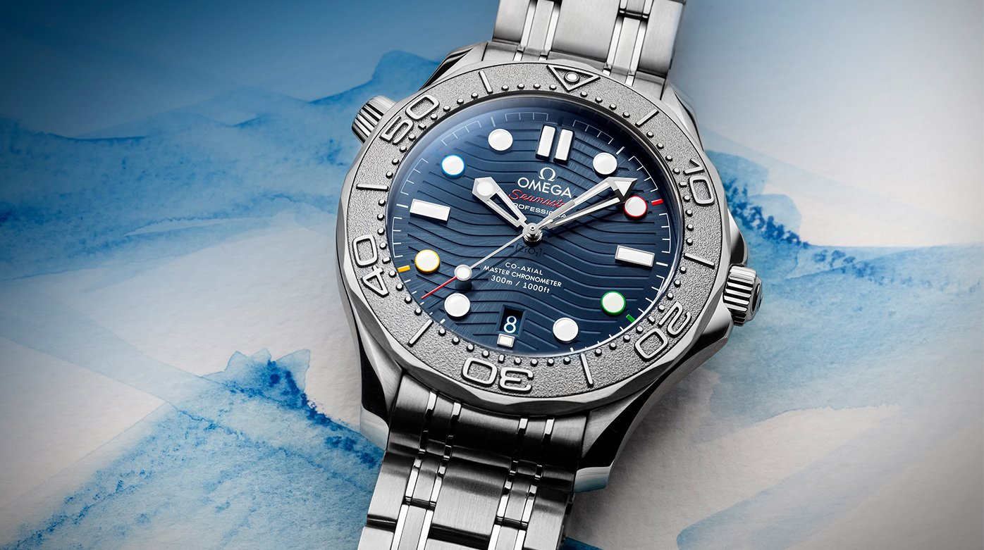 """Omega - Seamaster Diver 300M """"Beijing 2022"""" Special Edition"""