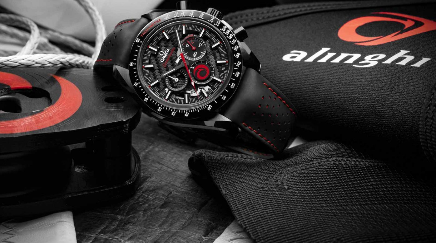 Omega - Omega and Alinghi launch the new Speedmaster