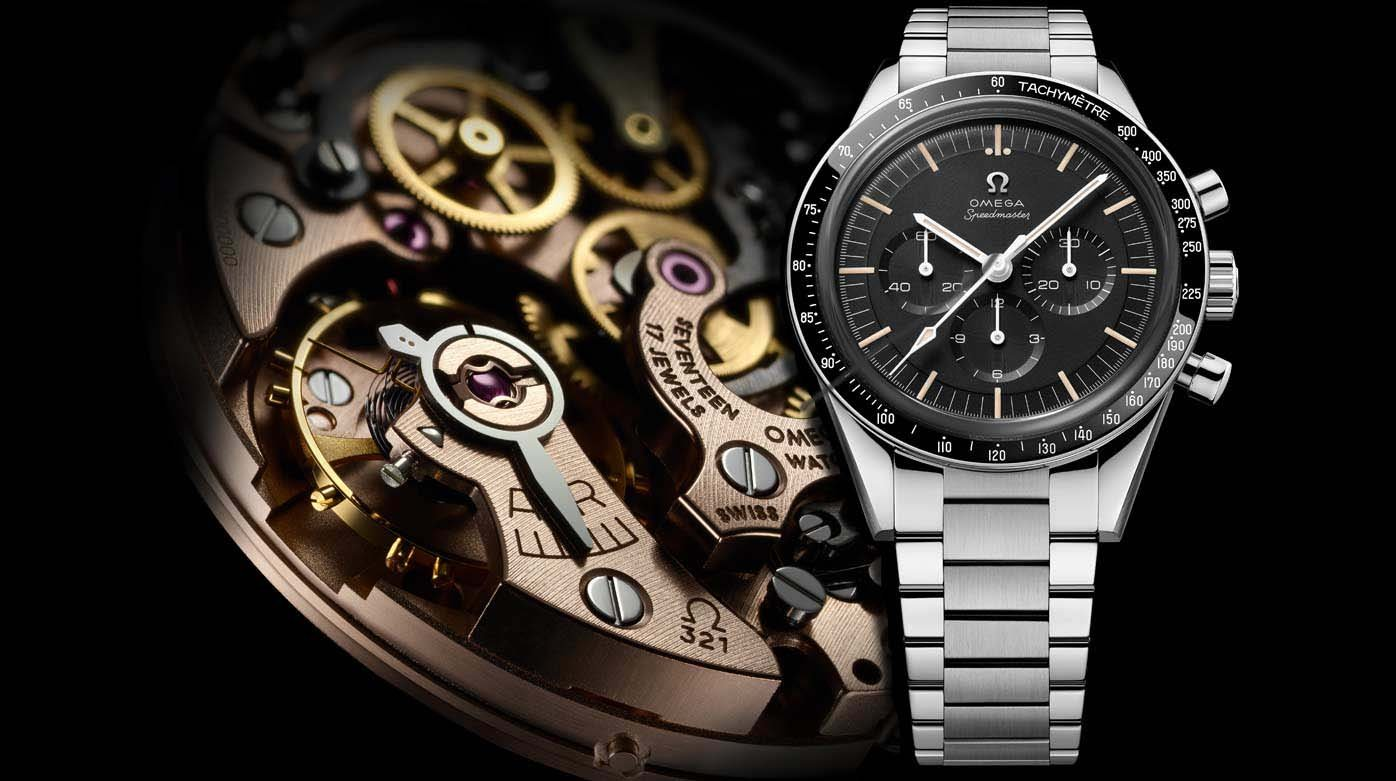 Omega -  Omega Speedmaster Cal 321:  a highly anticipated model in steel