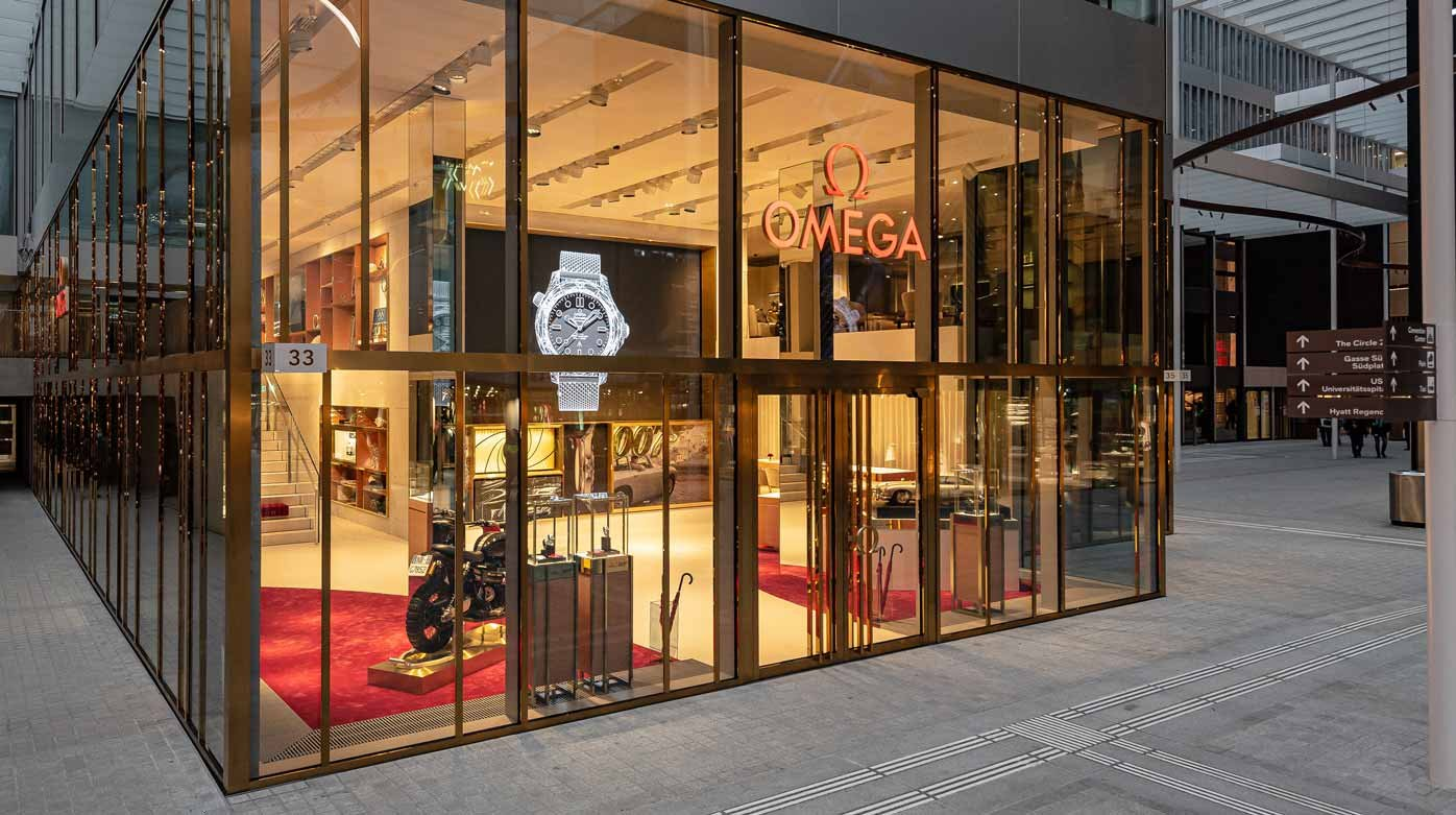 Omega - The Brand Joins The Circle With an Immersive Boutique