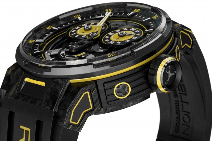 Predator 2.0 Regulator Power Reserve Sébastien Buemi Edition for Only Watch Auctions and vintage