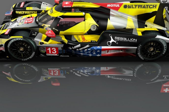 A new crew and new livery for the Petit Le Mans Brands