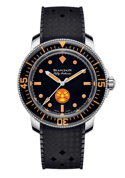 A Tribute to Fifty Fathoms No Rad watch in one unique edition for Only Watch