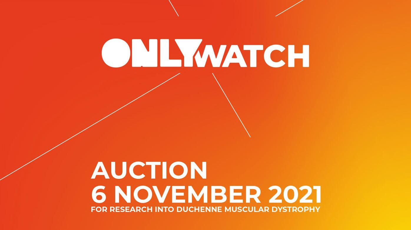 Only Watch 2021 - Avec ses propres mots : Luc Pettavino inaugure Only Watch 2021