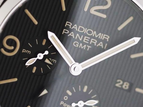Panerai - Video. Radiomir 1940 3 Days GMT Power Reserve Automatic Acciaio 45MM