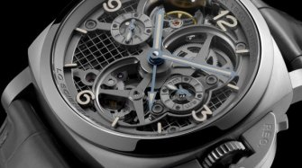 Lo Scienziato - Luminor 1950 Tourbillon GMT Titanio (PAM00578) Style & Tendance