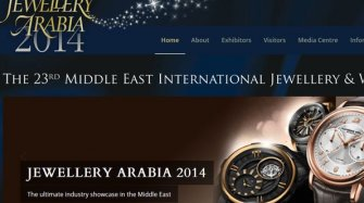 At the Jewellery Arabia Exhibition in Barhain Exhibitions