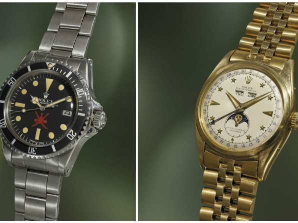 "Phillips - The ""Milestones Rolex"" auction"