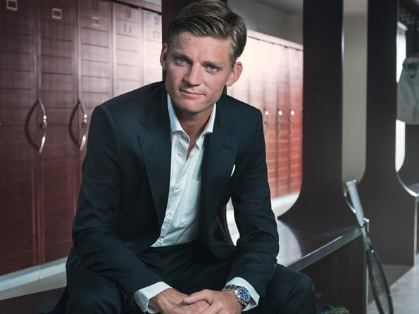 Piaget - Vidéo. The Piaget Polo S Game Changers: David Goffin