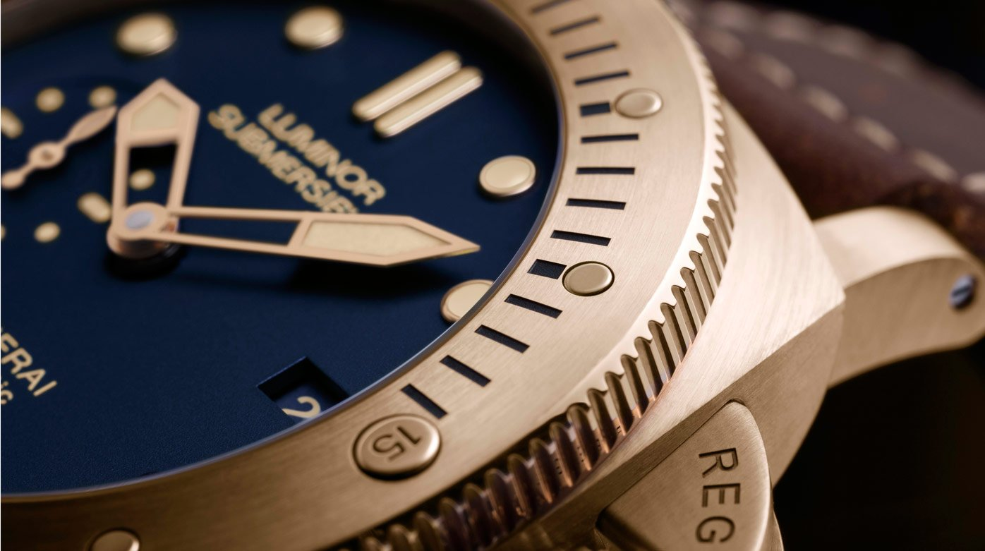 Panerai - Luminor Submersible 1950 3 Days Automatic Bronzo