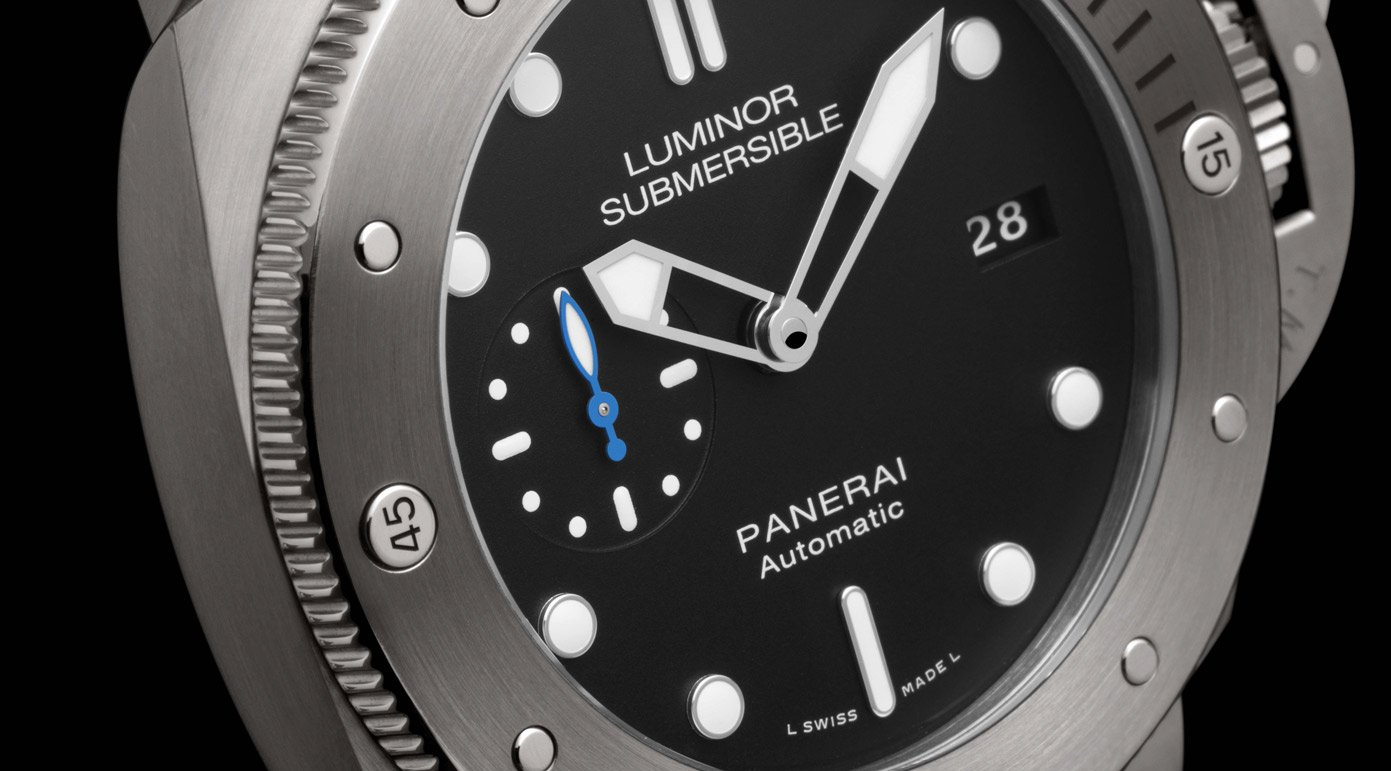 Panerai - Luminor Submersible 1950 3 Days Automatic Titanio