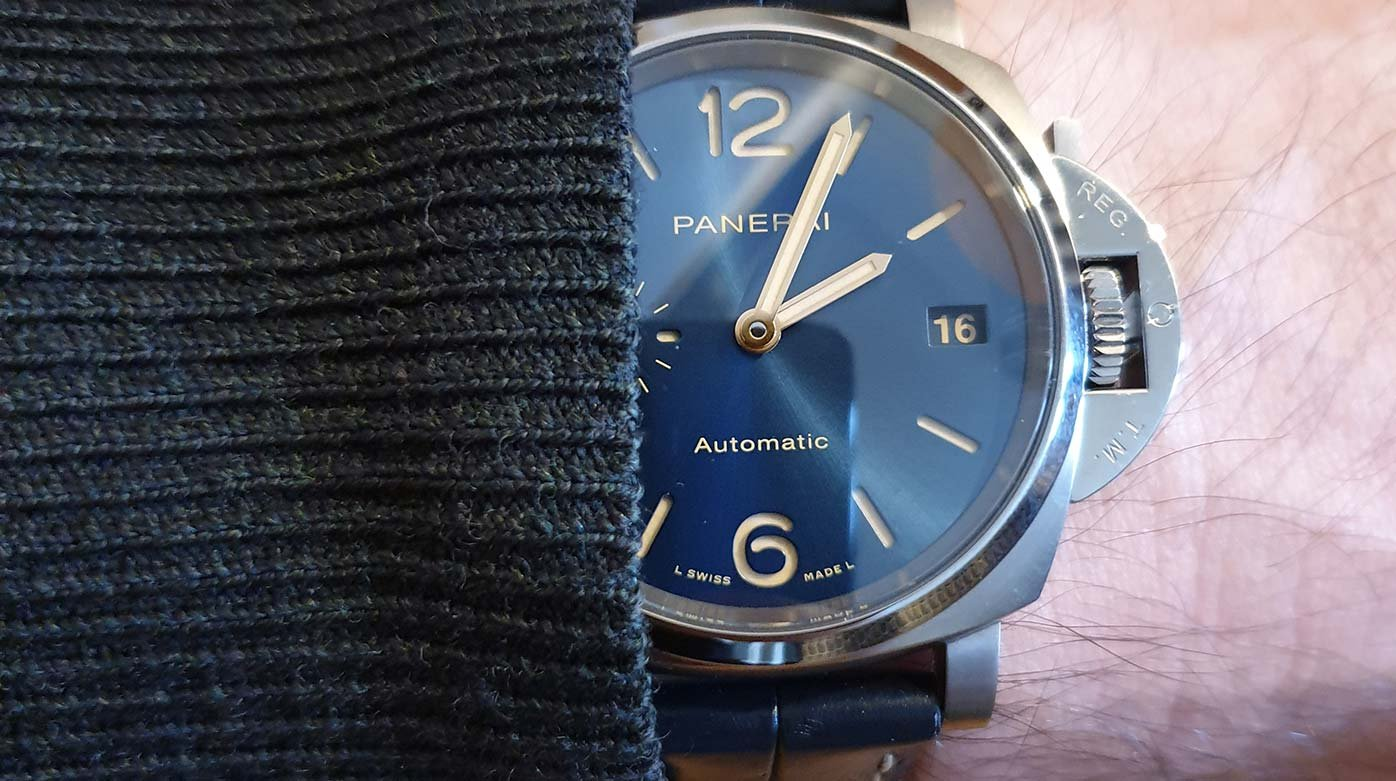 Panerai - Panerai Luminor Due 38mm alias PAM926 : A contre-emploi