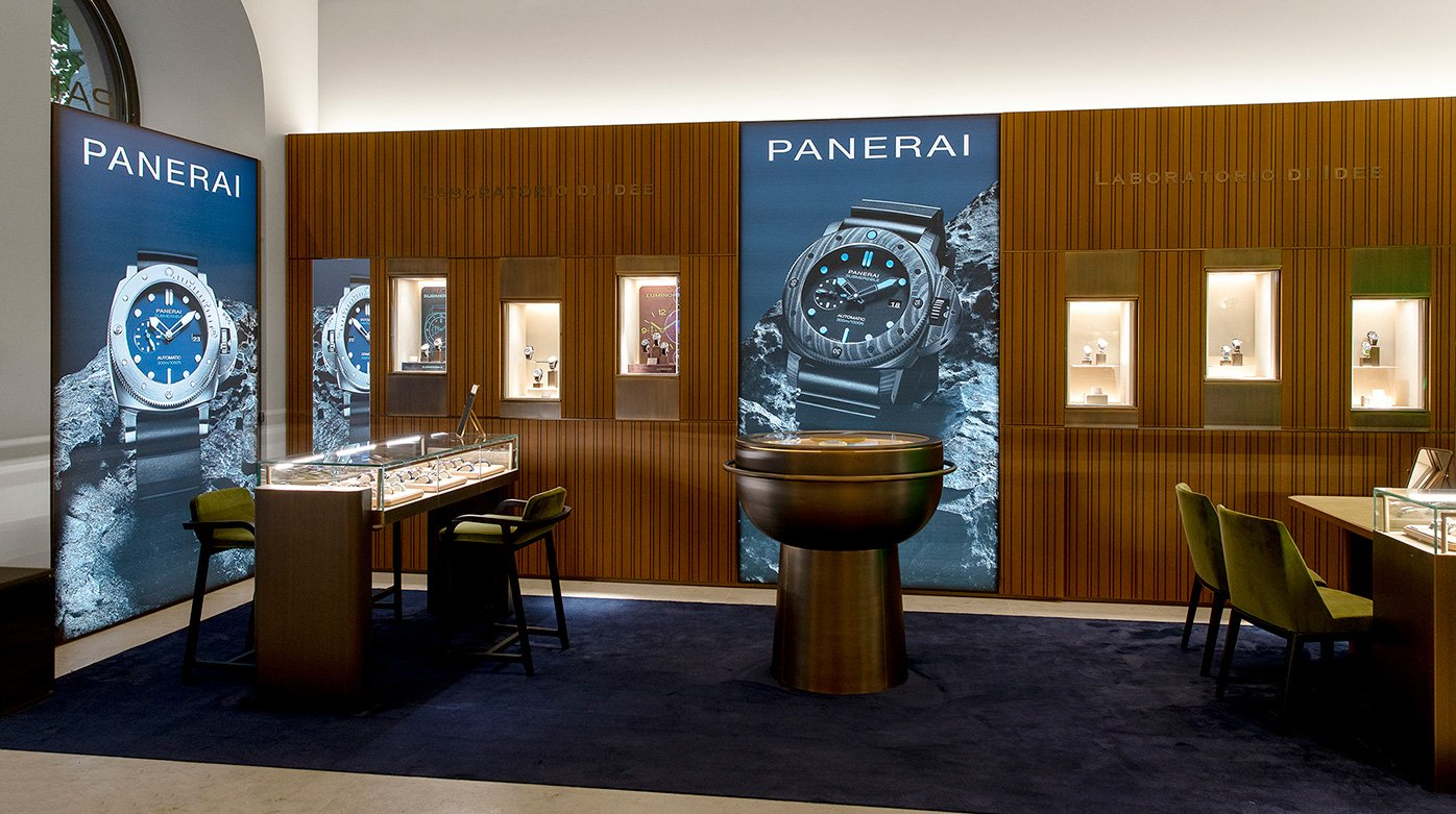 Panerai - Opening of a first boutique in Zurich