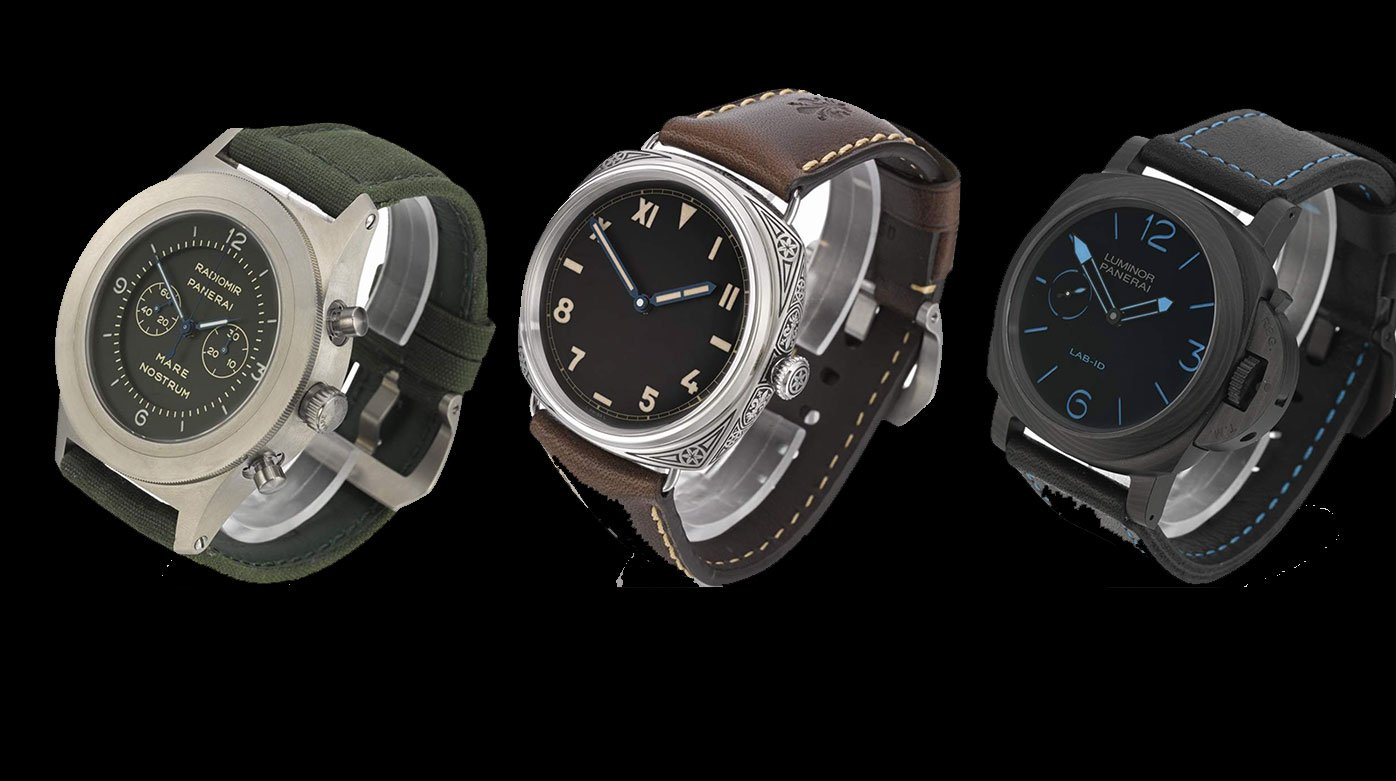 Panerai - Three prototypes in an exclusive online auction