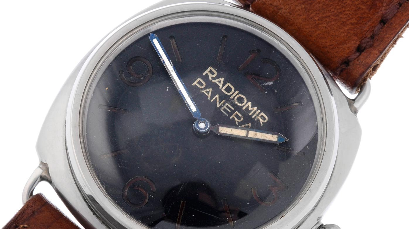 Panerai - A rare Panerai with provenance