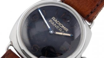 A rare Panerai with provenance Watches