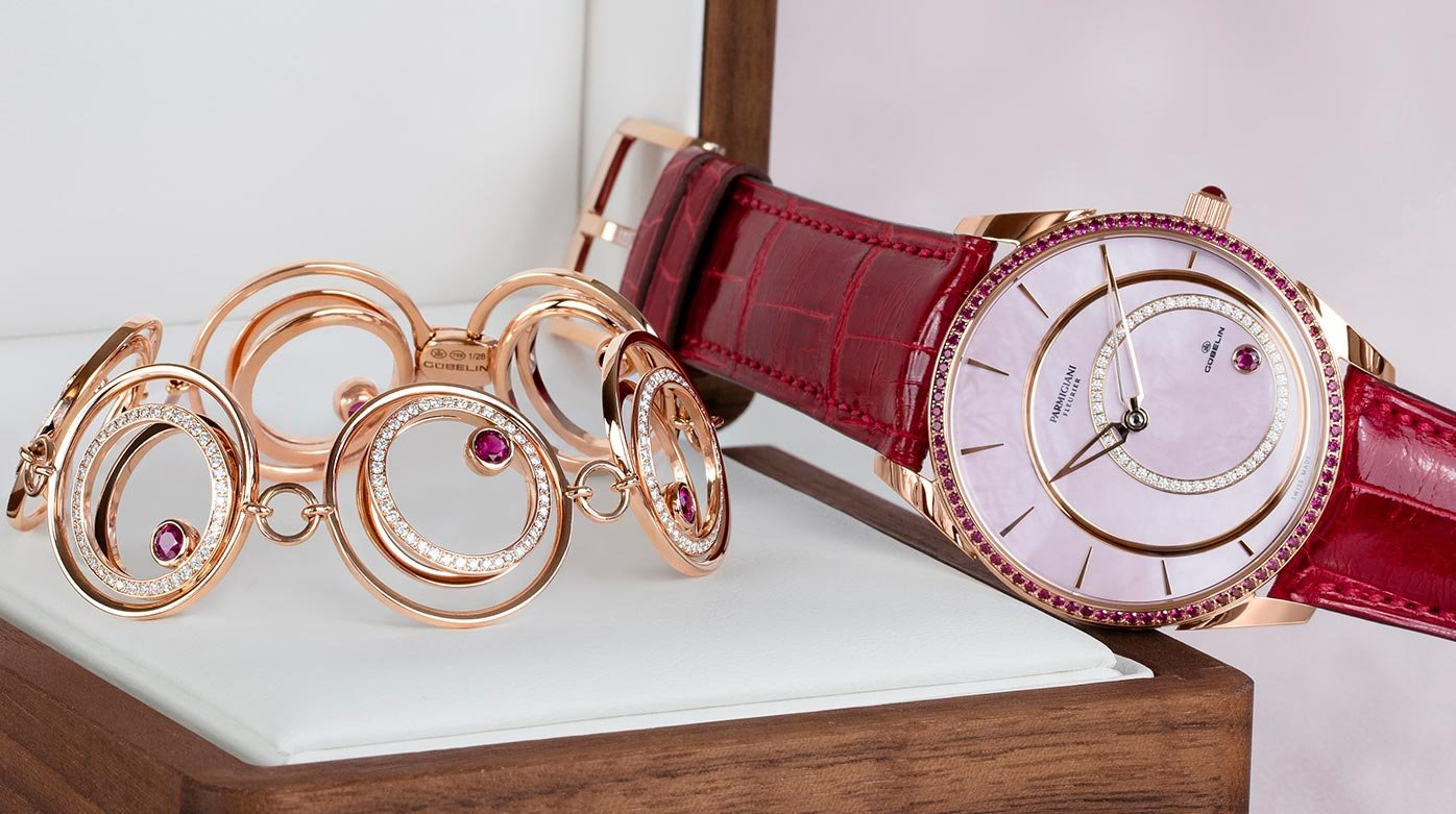 Parmigiani Fleurier - A limited-edition Tonda 1950 inspired by the inclusions in a ruby