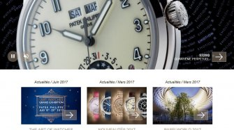 Fresh and clean : the new patek.com