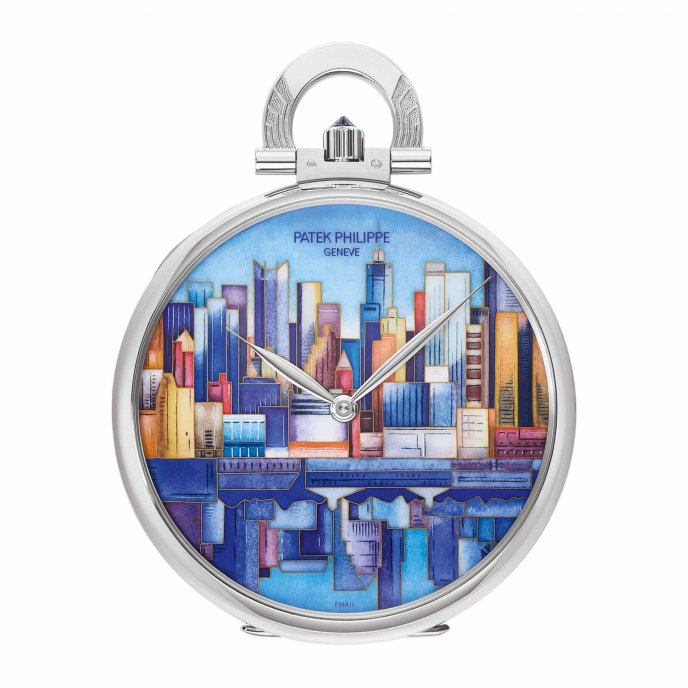Pocket Watch - Manhattan-Brooklyn