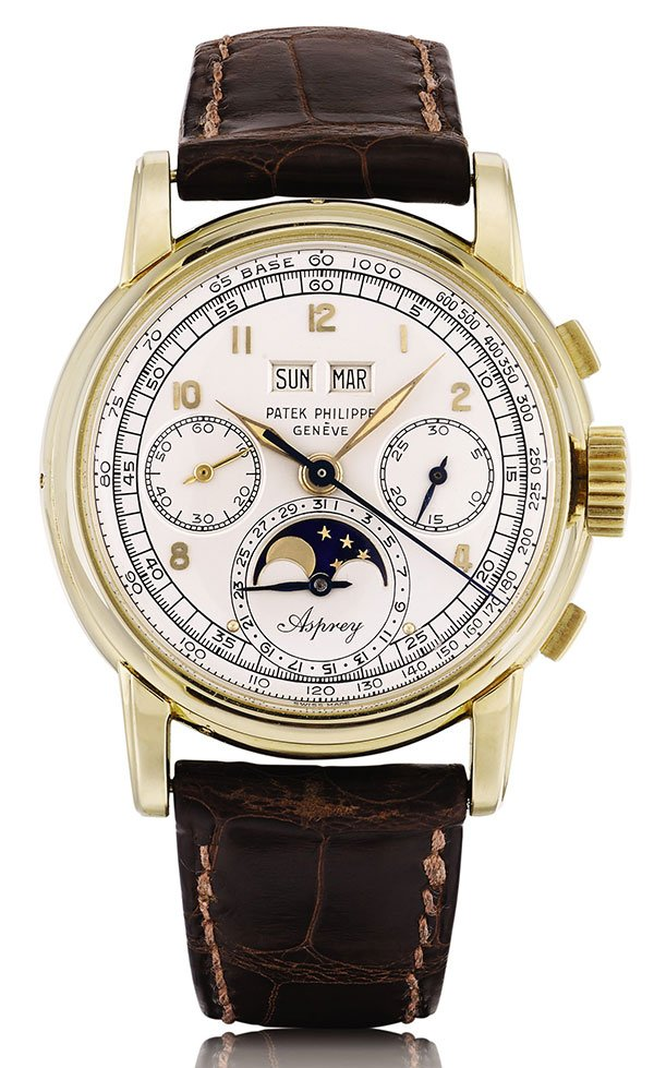 The most expensive watch sold at auction in 2018