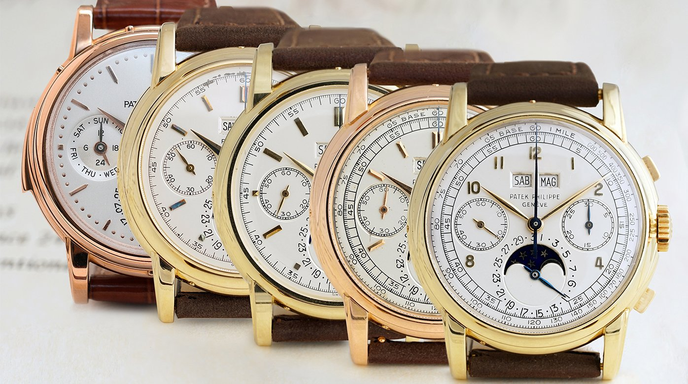 Patek Philippe - Phillips in Association with Bacs & Russo Announces Five Patek Philippe Wristwatches
