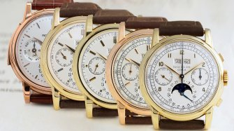 Phillips in Association with Bacs & Russo Announces Five Patek Philippe Wristwatches
