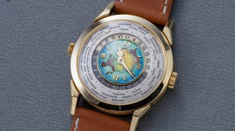 New World Record for Highest Price for a Patek Philippe Two-Crown Wristwatch with Cloisonné Enamel Dial Auctions and vintage