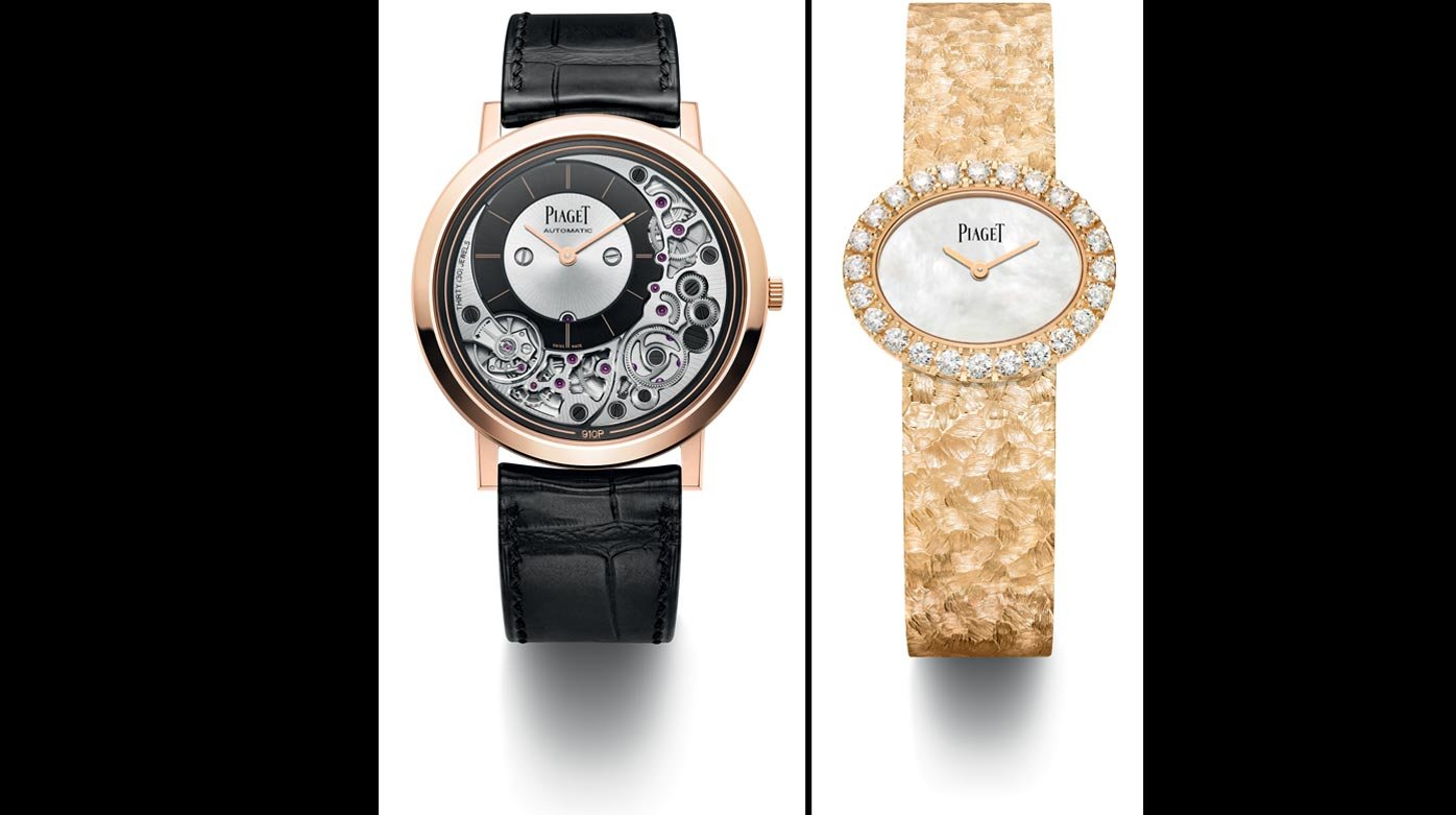 Piaget - Ultimate Automatic et Extremely Lady